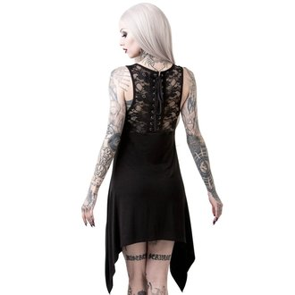 Damen Kleid (Tunika) KILLSTAR - NO SLEEP DECADENCE - SCHWARZ, KILLSTAR