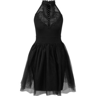Damen Kleid KILLSTAR - NYTE NYMPH PARTY - SCHWARZ