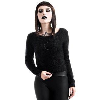 Damen Pullover KILLSTAR - Obscura Fuzzy Knit - Schwarz, KILLSTAR