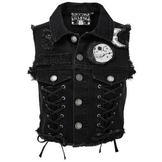 Damen Weste - PHASED OUT DENIM - KILLSTAR, KILLSTAR