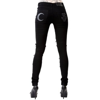 Damen Hose KILLSTAR - PHASED OUT JEANS - SCHWARZ, KILLSTAR
