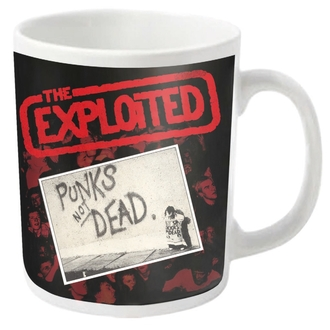Tasse EXPLOITED - PUNKS NOT DEAD - PLASTIC HEAD, PLASTIC HEAD, Exploited