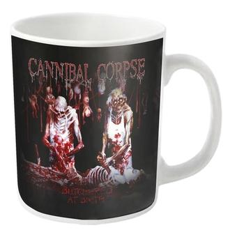Tasse CANNIBAL CORPSE - BUTCHERED - Weiß - PLASTIC HEAD, PLASTIC HEAD, Cannibal Corpse