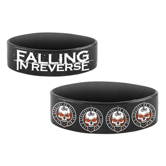 Gummi-Armband FALLING IN REVERSE - STRAIGHT TO HELL - PLASTIC HEAD, PLASTIC HEAD, Falling In Reverse