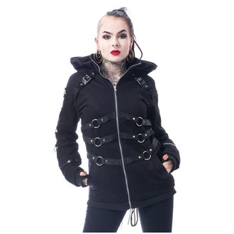 Damen Jacke Frühling Herbst - VIVIEN - CHEMICAL BLACK, CHEMICAL BLACK
