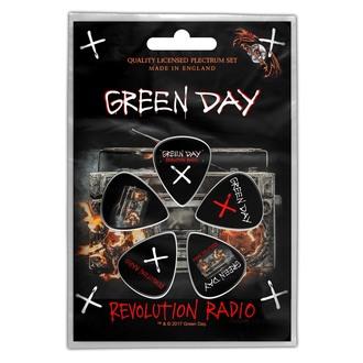 Plektren Green Day - Revolution - ROCK OFF, ROCK OFF, Green Day