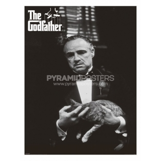 Posters - The Godfather (Cat B&W) - PP30526, PYRAMID POSTERS