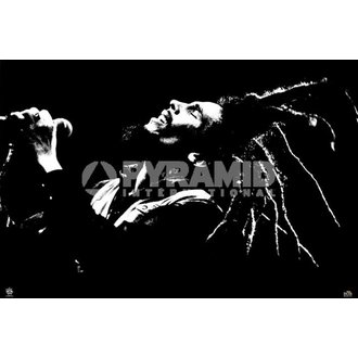 Poster Bob Marley (B&W) - PYRAMID POSTERS