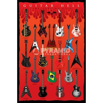 Poster Guitar Hell (The Axes Of Evil) - PYRAMID POSTERS