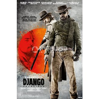 Poster Django Unchained - They Took His Free - Pyramid Posters, PYRAMID POSTERS
