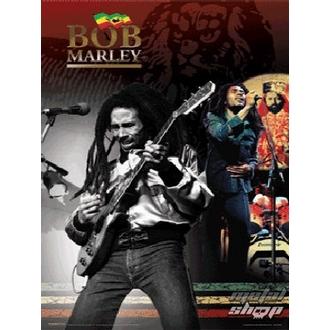 Bild 3D Bob Marley - PPL70046, PYRAMID POSTERS, Bob Marley