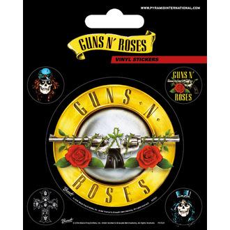 Aufkleber Guns N' Roses - PYRAMID POSTERS, PYRAMID POSTERS, Guns N' Roses