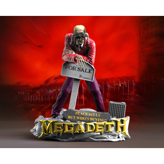 Statue/Figur (Dekoration) Megadeth - Rock Iconz - Peace Sells - VIC Klapperkopf 2, KNUCKLEBONZ, Megadeth
