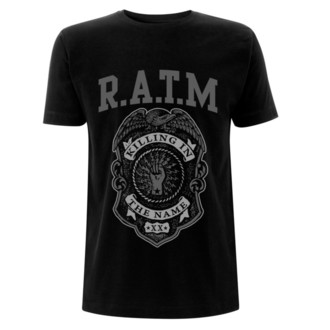 Herren T-Shirt Metal Rage against the machine - Grey Police -, Rage against the machine