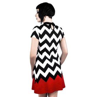 Damen Kleid KILLSTAR - RED ROOM - SCHWARZ, KILLSTAR