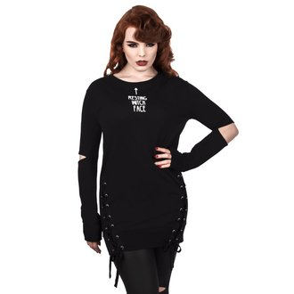 Damen Sweatshirt - RESTING WITCH FACE - KILLSTAR, KILLSTAR