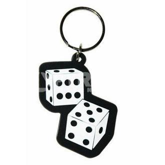 Schlüsselanhänger (Anhänger ) Dice - PYRAMID POSTERS, PYRAMID POSTERS