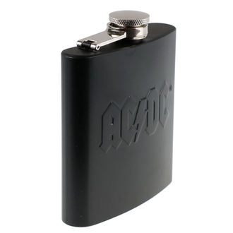 Flachmann AC / DC - Hip Flask Embossed, AC-DC