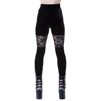 Damen Leggings KILLSTAR - ROSE MERRY - SCHWARZ, KILLSTAR