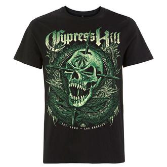 Herren T-Shirt Metal Cypress Hill - Fangs Skull - NNM, NNM, Cypress Hill