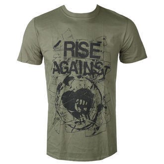Herren T-Shirt Metal Rise Against - TAPE - PLASTIC HEAD, PLASTIC HEAD, Rise Against