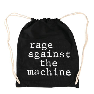 Sportbeutel Rage Against the Machine - Stack Logo - Schwarz Kordelzug, Rage against the machine