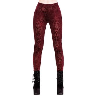 Damen Leggings KILLSTAR - Saiph - WEIN, KILLSTAR