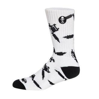 Socken SULLEN - MACHINED - WEISS, SULLEN