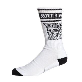 Socken SULLEN - JACKED - WEISS / SCHWARZ, SULLEN