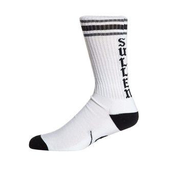 Socken SULLEN - SPIT FIRE - WEISS / SCHWARZ, SULLEN