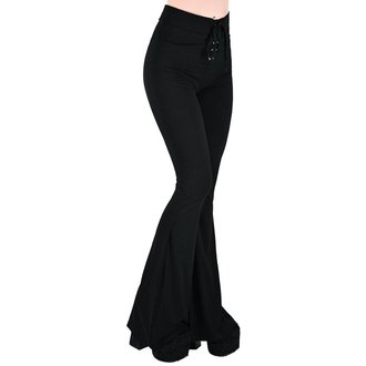 Damen Hose KILLSTAR - Slo-Burn Bell - SCHWARZ, KILLSTAR
