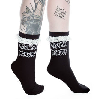 Socken KILLSTAR - MARILYN MANSON - Snake Eyes - Schwarz, KILLSTAR, Marilyn Manson