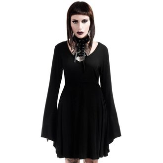 Damen Kleid KILLSTAR - Spyda Lace-Me-Up - Schwarz, KILLSTAR
