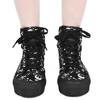Damen High Top Sneakers - Starmap - KILLSTAR, KILLSTAR