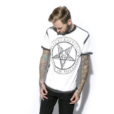 Herren T-Shirt - Satanic Seam - BLACK CRAFT, BLACK CRAFT