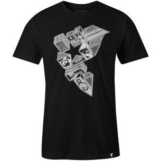 Herren T-Shirt Street - STEREO STACKS - FAMOUS STARS & STRAPS, FAMOUS STARS & STRAPS