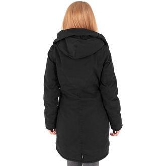 Damen Winterjacke - Garment washed Long Parka - URBAN CLASSICS, URBAN CLASSICS