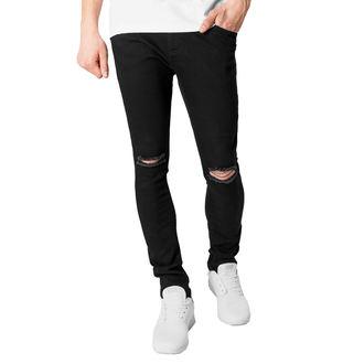 Herren Hose URBAN CLASSICS - Slim Fit Knee Cut Denim