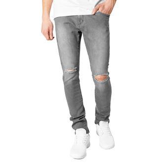 Herren Hose URBAN CLASSICS - Slim Fit Knee Cut Denim, URBAN CLASSICS