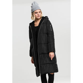 Damen Mantel URBAN CLASSICS - Puffer - schwarz / schwarz, URBAN CLASSICS