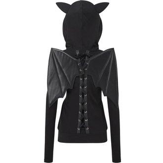 Damen Pullover KILLSTAR - Tokyo Nights I'm A Bat - Schwarz