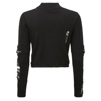 Damen Sweatshirt KILLSTAR - TOURNIQUET - SCHWARZ, KILLSTAR