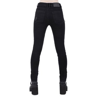 Damen Hose KILLSTAR - Trash Talk Jeans - SCHWARZ, KILLSTAR
