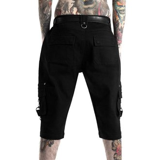 Herren Shorts KILLSTAR - TWISTED CARGO - SCHWARZ, KILLSTAR
