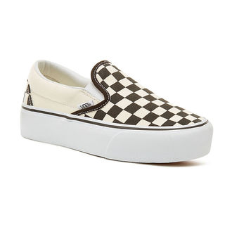 Damen Low Sneaker - UA CLASSIC SLIP-ON PLATFORM Blk WhtCh - VANS, VANS