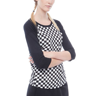 Damen T-Shirt Street - WM CHECKS RAGLAN - VANS, VANS