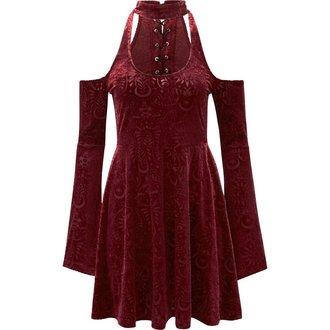 Damen Kleid KILLSTAR - Vela - WEIN
