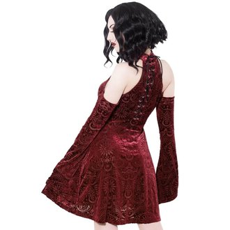 Damen Kleid KILLSTAR - Vela - WEIN, KILLSTAR