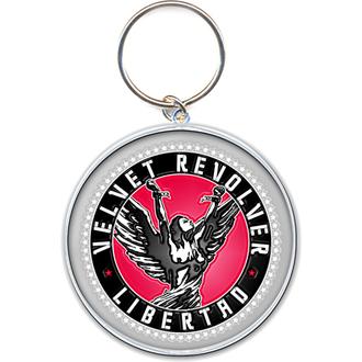 Schlüsselanhänger - Anhänger  Velvet Revolver (Circle Logo) - ROCK OFF, ROCK OFF, Velvet Revolver
