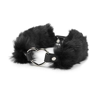 Halsband KILLSTAR - Venus Fur Choker - Schwarz, KILLSTAR